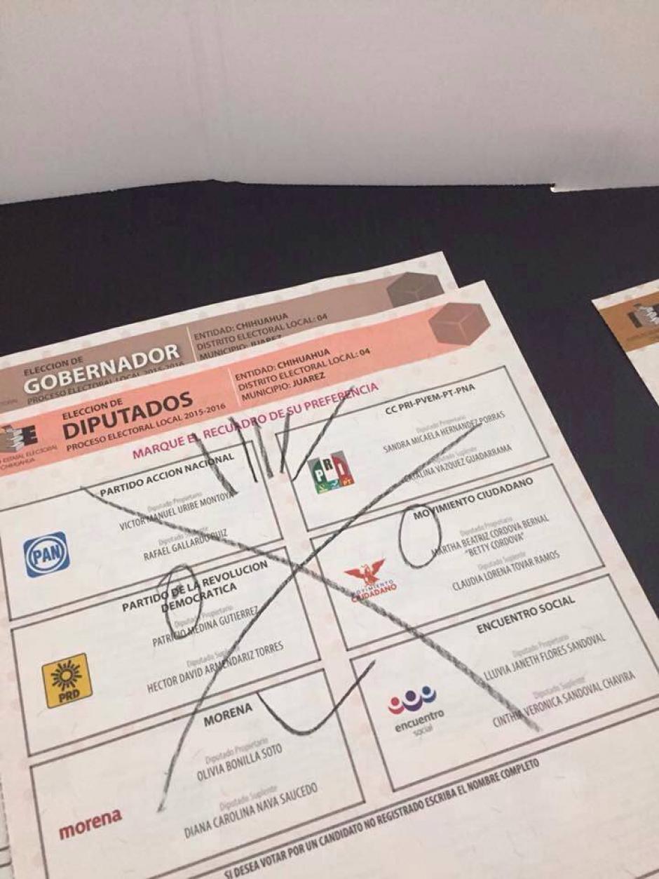 La medida de los votantes provocó diversas reacciones. (Foto: tiempo.com.mx)