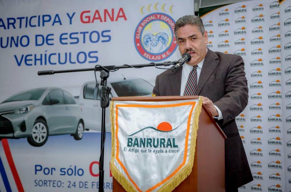 Abner Fonseca, gerente de Negocios de Banrural. (Foto: Archivo)