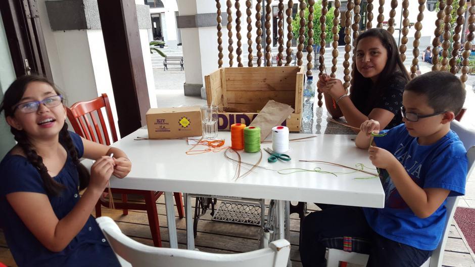 El proyecto calificó para representar a Guatemala en un evento impulsado por el BID sobre proyectos innovadores. (Foto: Didart Guatemala)