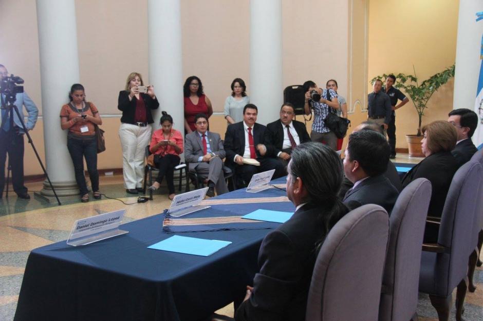 Destacan entre los elegidos Juan Fernando Rodríguez Ortiz y Romero Morán Mus, ambos persiguieron una alcaldía con el partido FCN-Nación. (Foto: Ministerio de Educación)