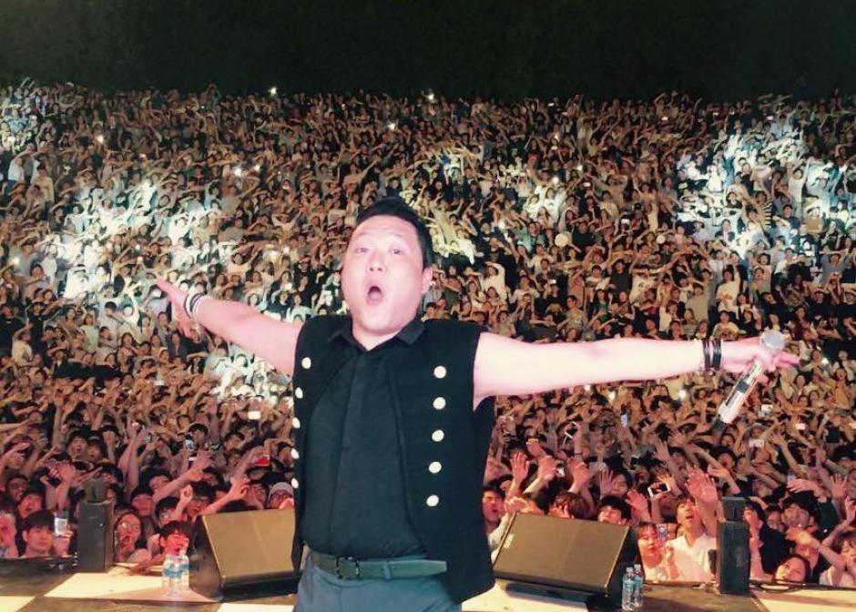 """Psy probó las mieles del éxito con la canción """"Gangnam Style"""". (Foto: Psy)"""