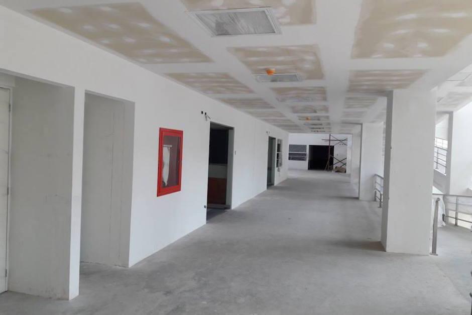 Aún no se termina de construir el Hospital. (Foto: Ministerio de Salud)