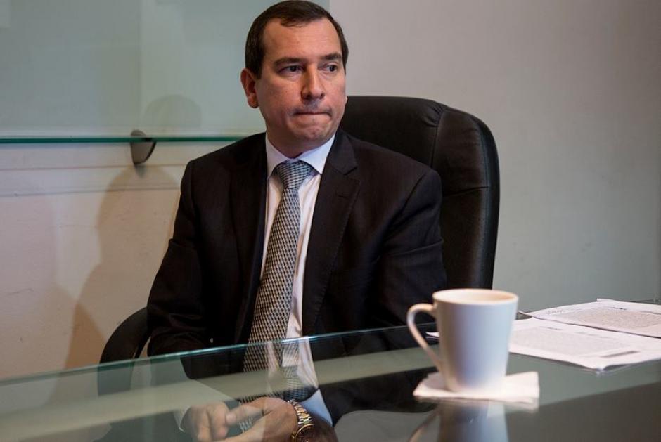 Julio Aldana, contacto de negocios de Banrural. (Foto: Archivo)