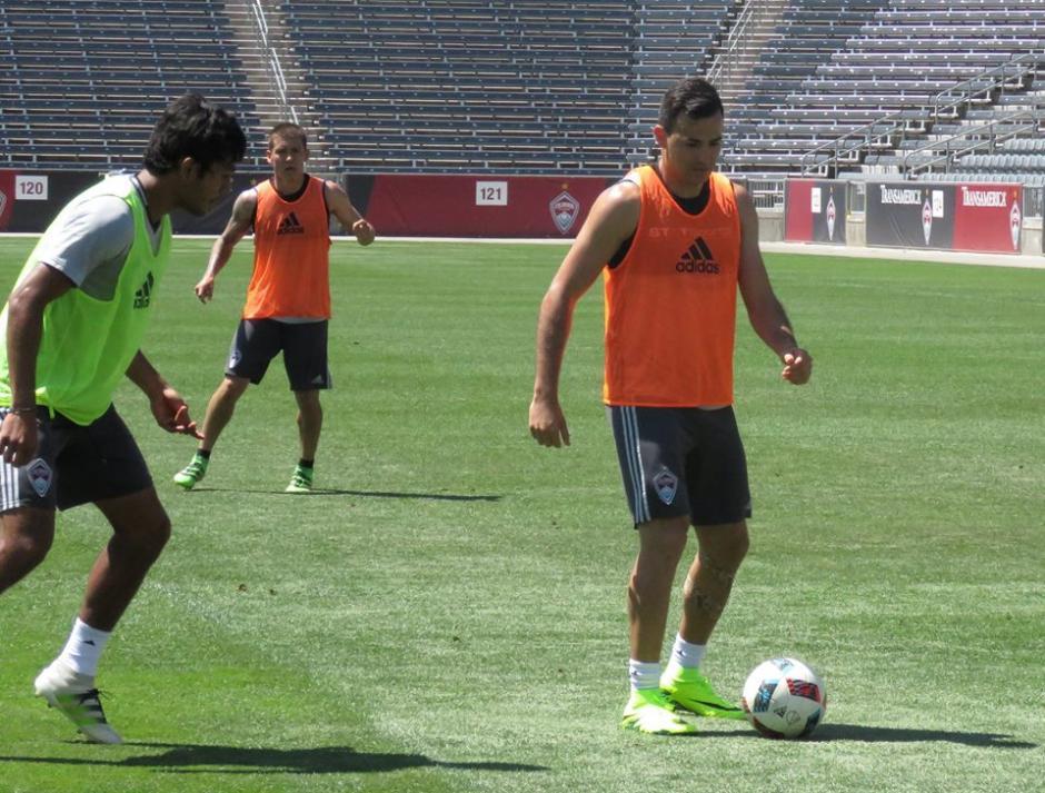 Marco Pablo estuvo fuera de actividad varias semanas por una lesión. (Foto: Colorado Rapids)