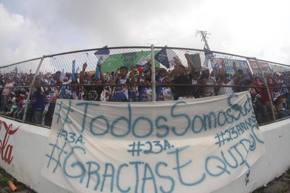 Los venados se sintieron orgullosos del esfuerzo que realizó su equipo en la fase final. (Foto: Luis Barrios/Soy502)