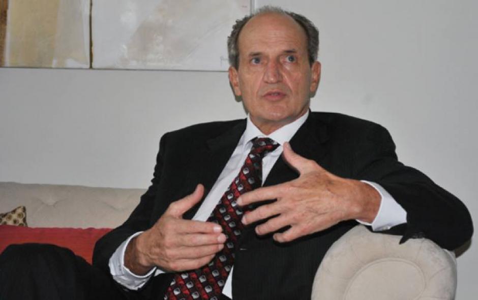 Flavio Montenegro, gerente general del banco G&T Continental. (Foto: Archivo)