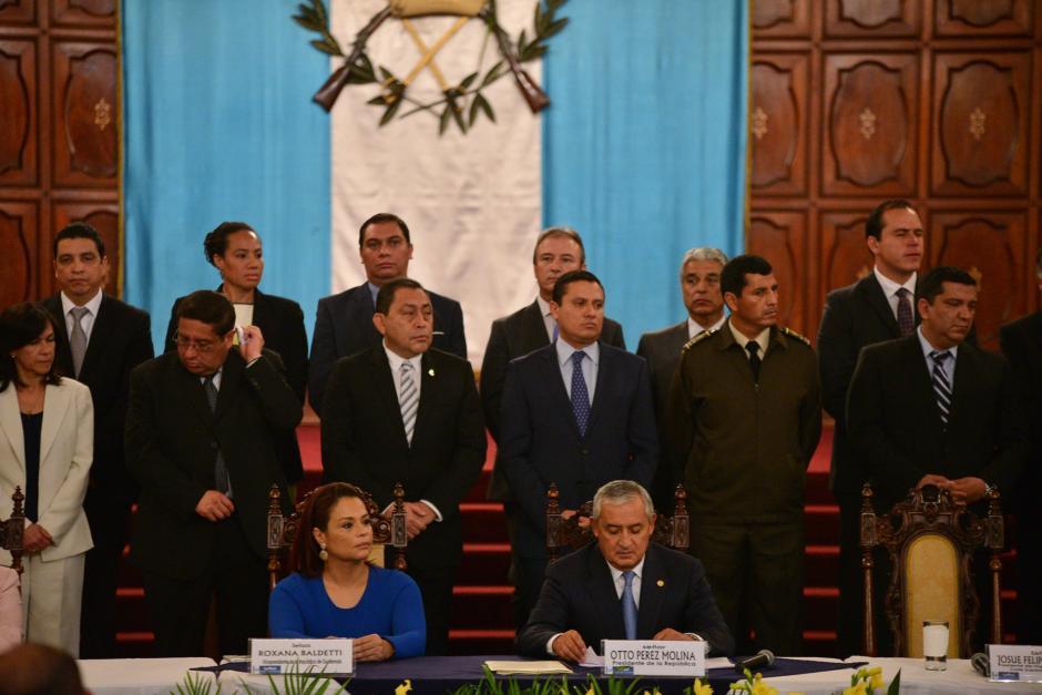 Varios de los ministros de la administración de Otto Pérez Molina han sido señalados de actos de corrupción. (Foto: Archivo/Soy502)
