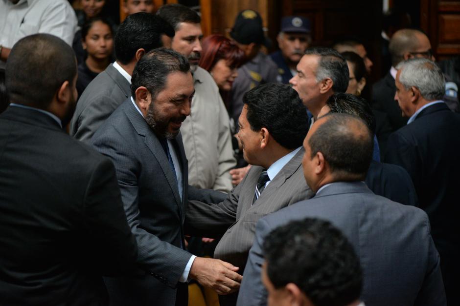 Durante la audiencia los exfuncionarios hablaron y se rieron. (Foto: Wilder López/Soy502)