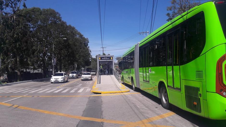 La Línea 6 y 18 estarán funcionando con normalidad, ya que el transbordo en Beatas de Belén estará habilitado. (Foto: Facebook/ Transmetro Guatemala)