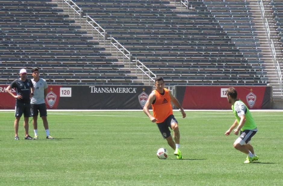 Pappa espera recuperase en lo futbolístico para guiar el ataque del Rapids. (Foto: Colorado Rapids)