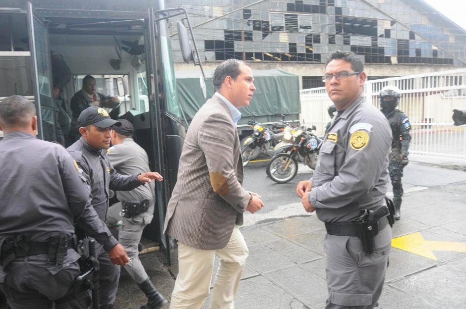 También está implicado Dwight Pezzarossi, exministro de Cultura. (Foto: Alejandro Balan/Soy502)
