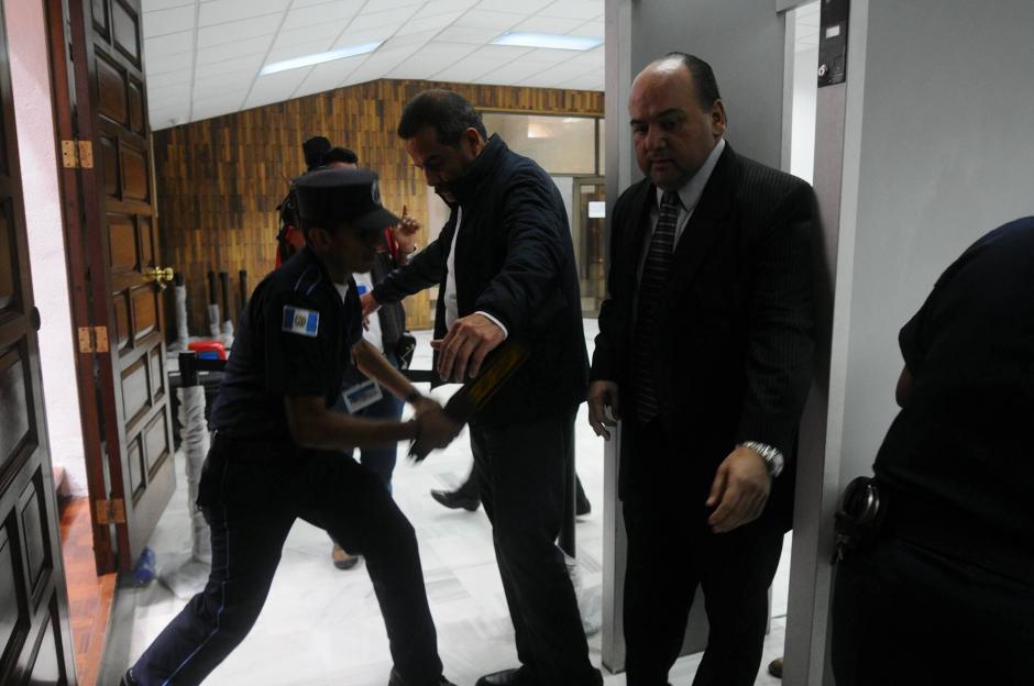 El expresidente de Banrural es señalado de los delitos de lavado de dinero, asociación ilícita y cohecho activo. (Foto: Alejandro Balán/ Soy502)