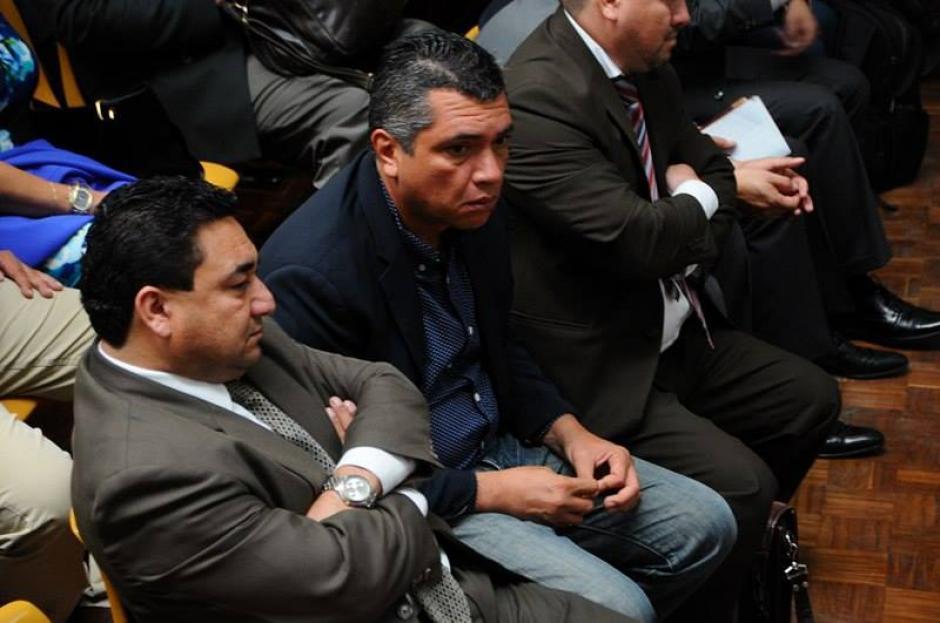 El exsecretario privado de Otto Pérez Molina, Gustavo Martínez durante el tercer día de audiencia. (Foto: Alejandro Balán/Soy502)