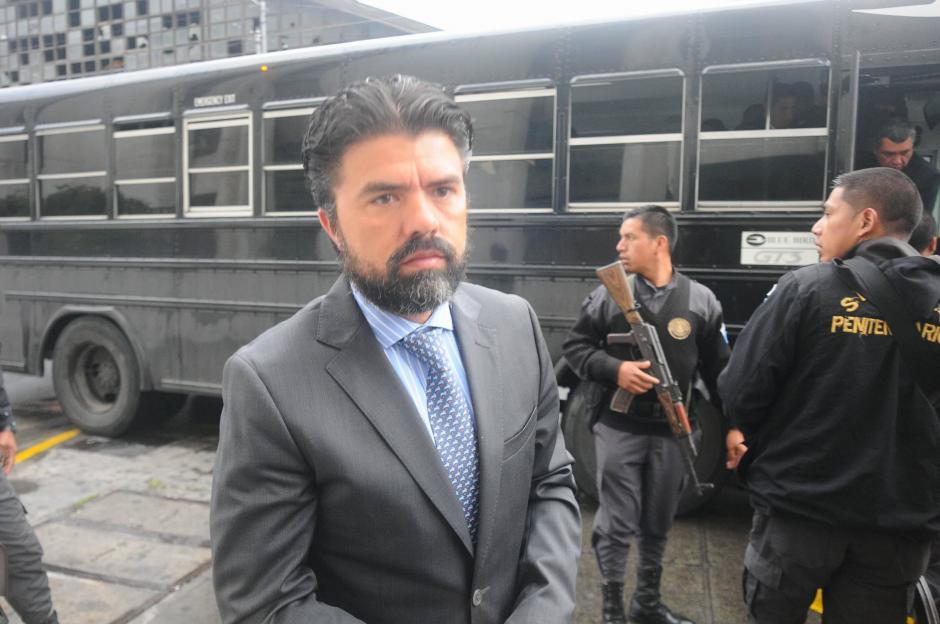 Jonathan Chévez, es acusado de lavado de dinero. (Foto: Alejandro Balan/Soy502)