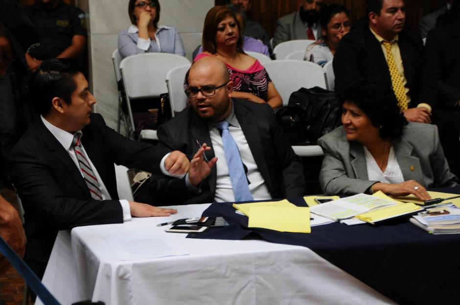 Durante la audiencia, Cano se mostró molesto por las imputaciones. (Foto: Alejandro Balán/Soy502)