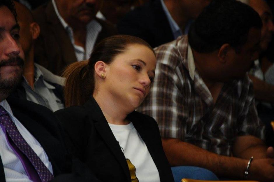 A Daniela Beltranena se le sindica en el caso Cooptación del Estado. (Foto: Alejandro Balán/Soy502)