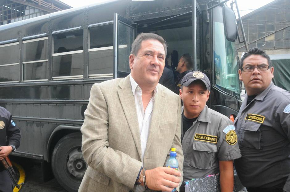 Alejos está acusado en el caso de Cooptación del Estado. (Foto: Alejandro Balan/Soy502)
