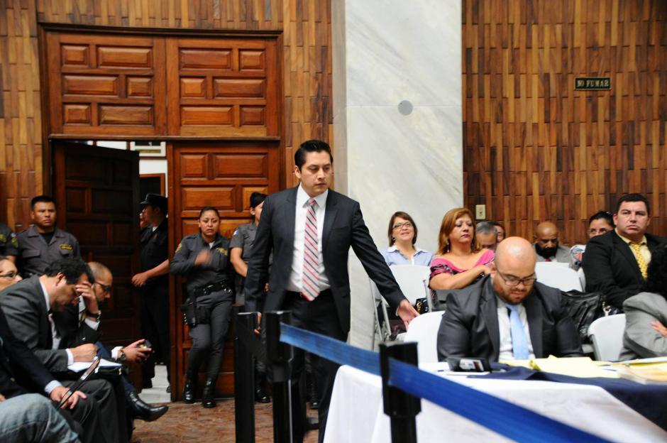 El abogado defensor Mario Cano es sindicado de lavado de dinero. (Foto: Alejandro Balán/Soy502)