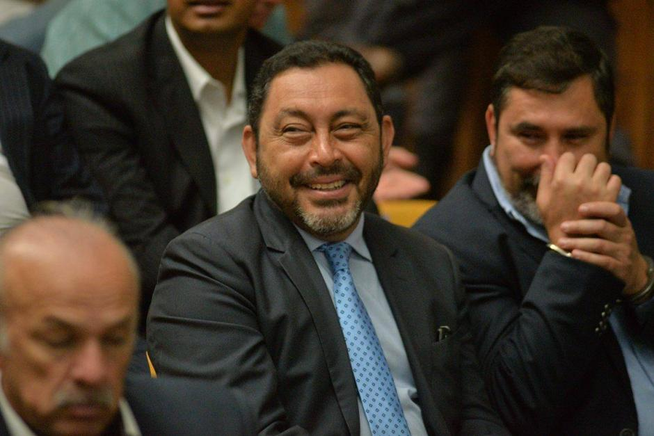 López Bonilla es sindicado de lavado de dinero, asociación ilícita y cohecho pasivo. (Foto: Wilder López/Soy502)