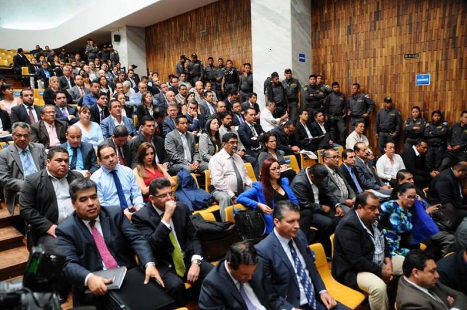 Inicia el tercer día de audiencia de primera declaración por caso Cooptación del Estado. (Foto: Alejandro Balán/Soy502)