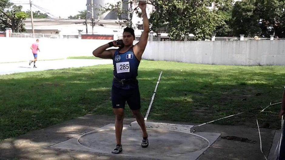 Billy López ganó la presea dorada en lanzamiento. (Foto: Federación Nacional de Atletismo)