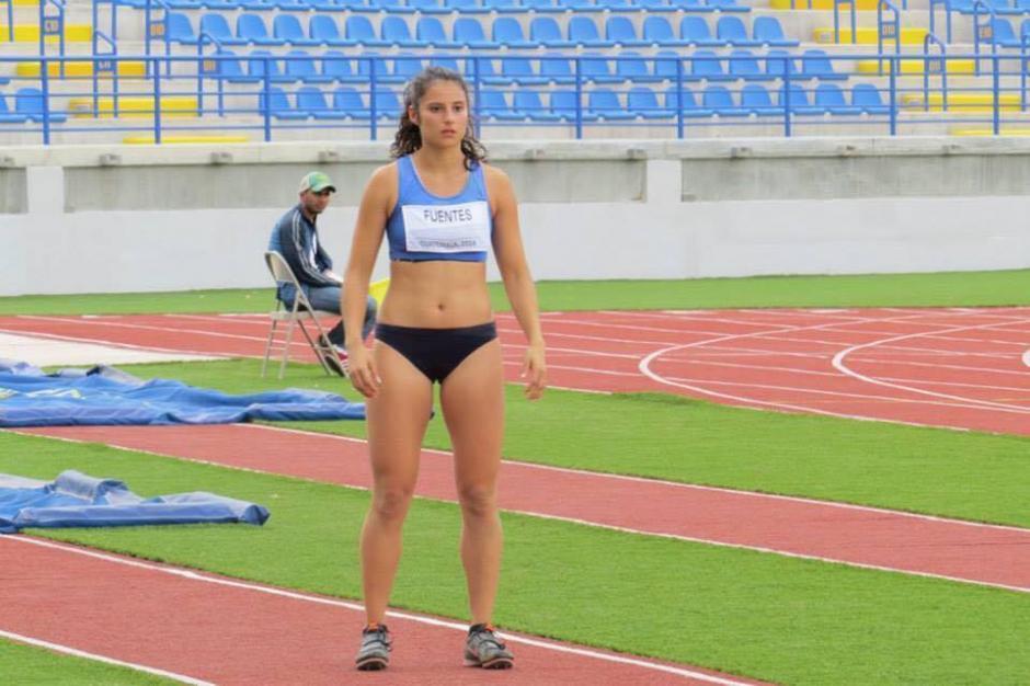 Thelma Fuentes se quedó con la medalla de oro en la prueba de salto triple. (Foto: Federación Nacional de Atletismo)