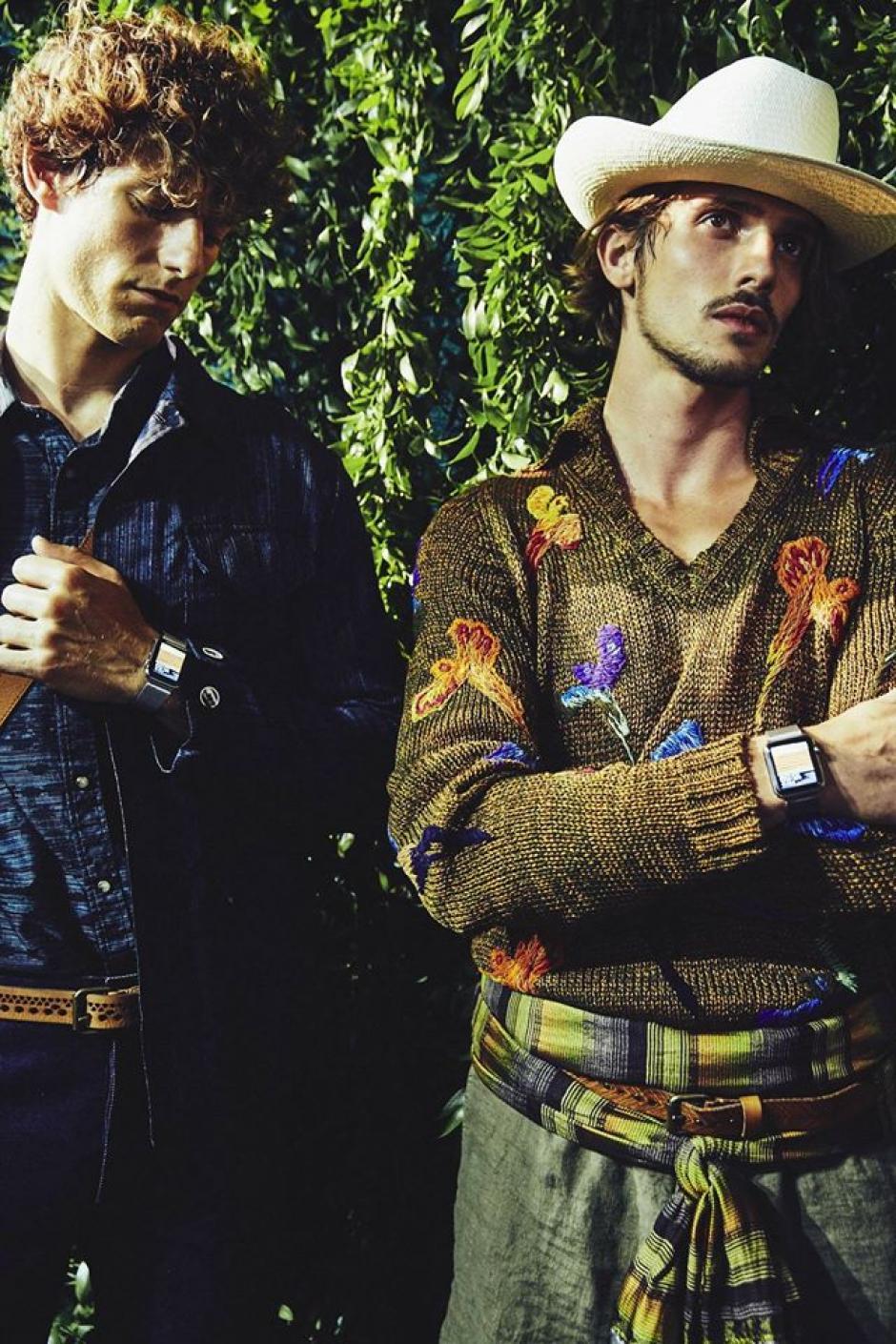 Las prendas combinan camisas, suéteres, pantalones cortos y largos, así como sombreros. (Foto: Facebook Missoni)