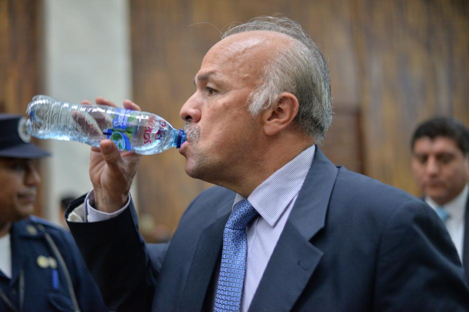 Contreras dijo que lo único que le ha dejado el caso es una diabetes. (Foto: Wilder López/Soy502)