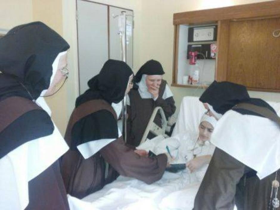 La hermana Ceci, como era conocida, falleció el miércoles a causa de cáncer en la lengua. (Foto: Curia Generalizia Carmelita)