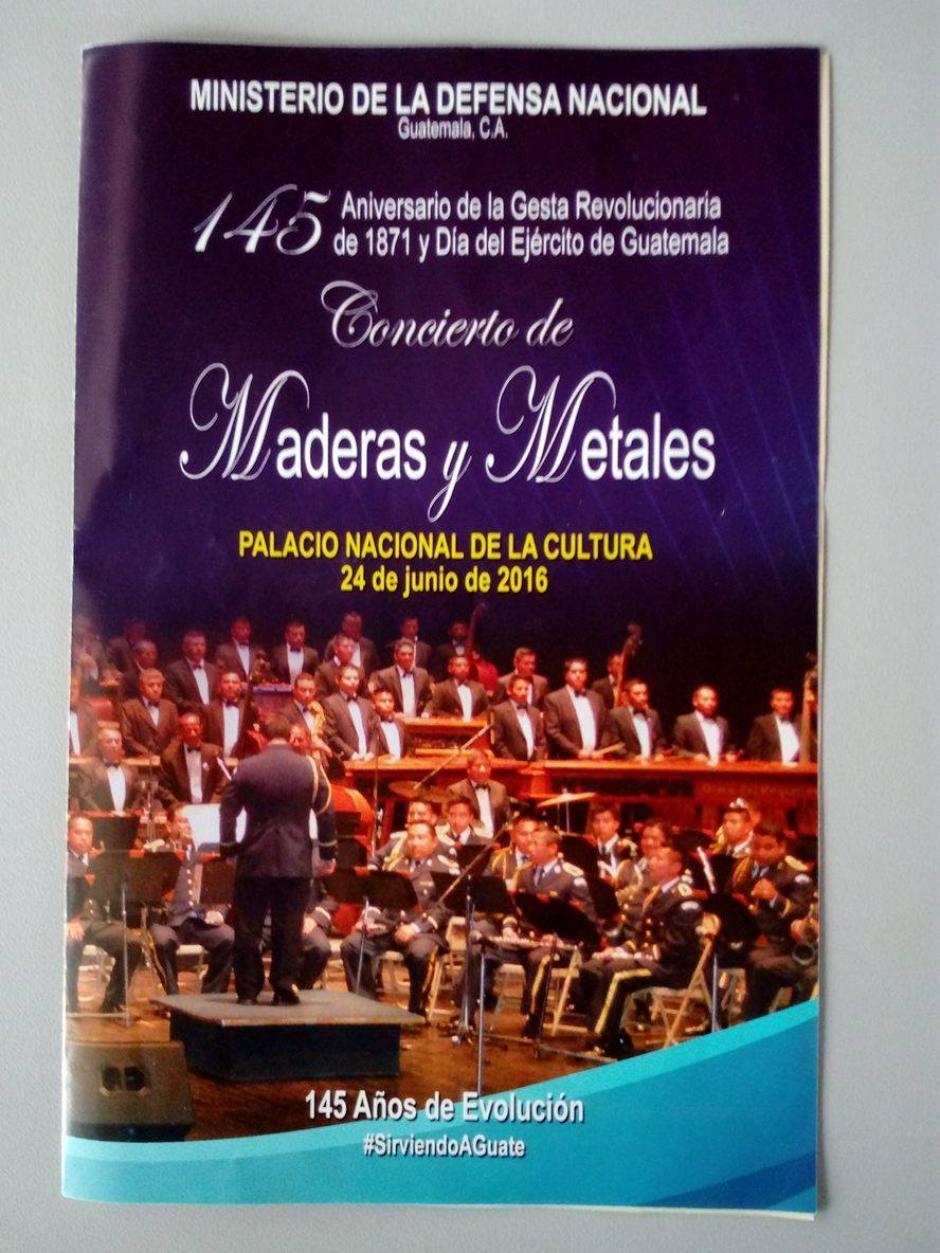 El Concierto de Maderas y Metales dará inicio con las palabras del Presidente, Jimmy Morales. (Foto: Alejandro Balán/Soy502)