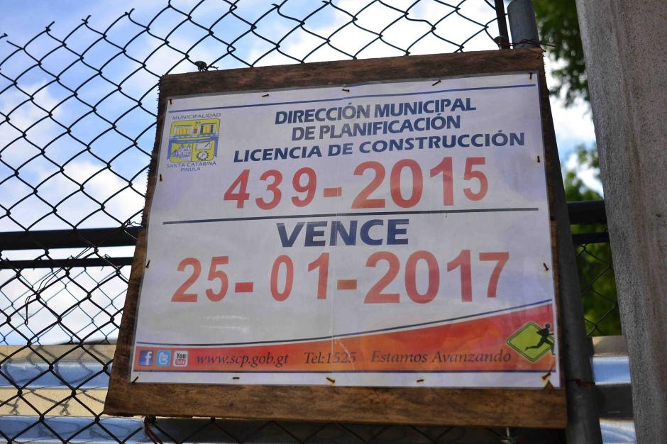 La obra se encuentra en construcción. (Foto: Jesús Alfonso/Soy502)