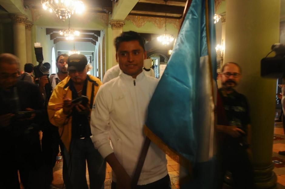 Erick Barrondo será el abanderado de Guatemala en Río 2016. (Foto: Alejandro Balán/Soy502)