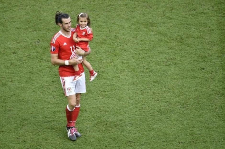 Al final, todo fue una celebración para Gales (AFP)