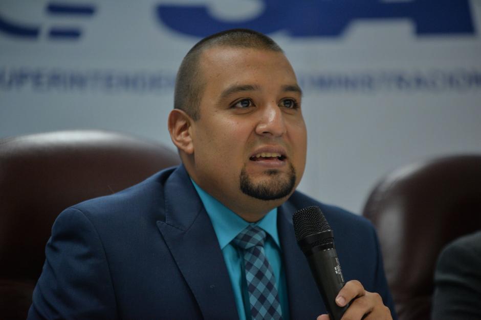 El Superintendente confirmó que pudo haberse filtrado información desde la SAT. (Foto: Wilder López/Soy502)