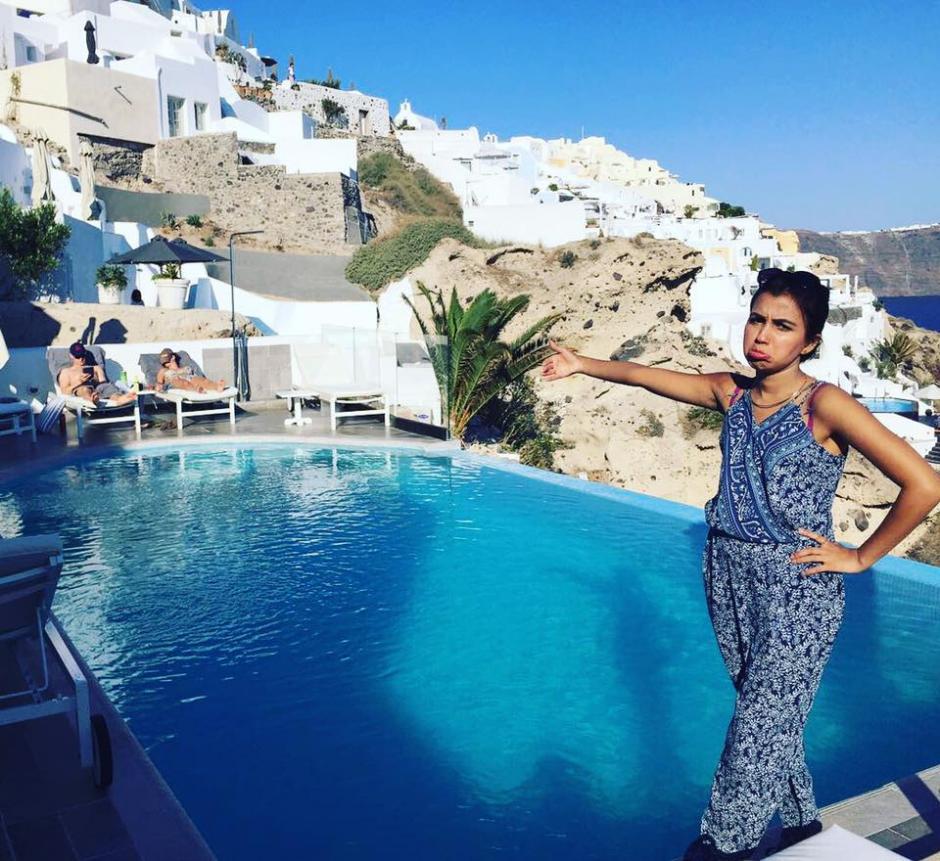 Las fotos de las vacaciones de Huma Mobin, ahora inundan las redes sociales. (Foto:  Huma Mobin)