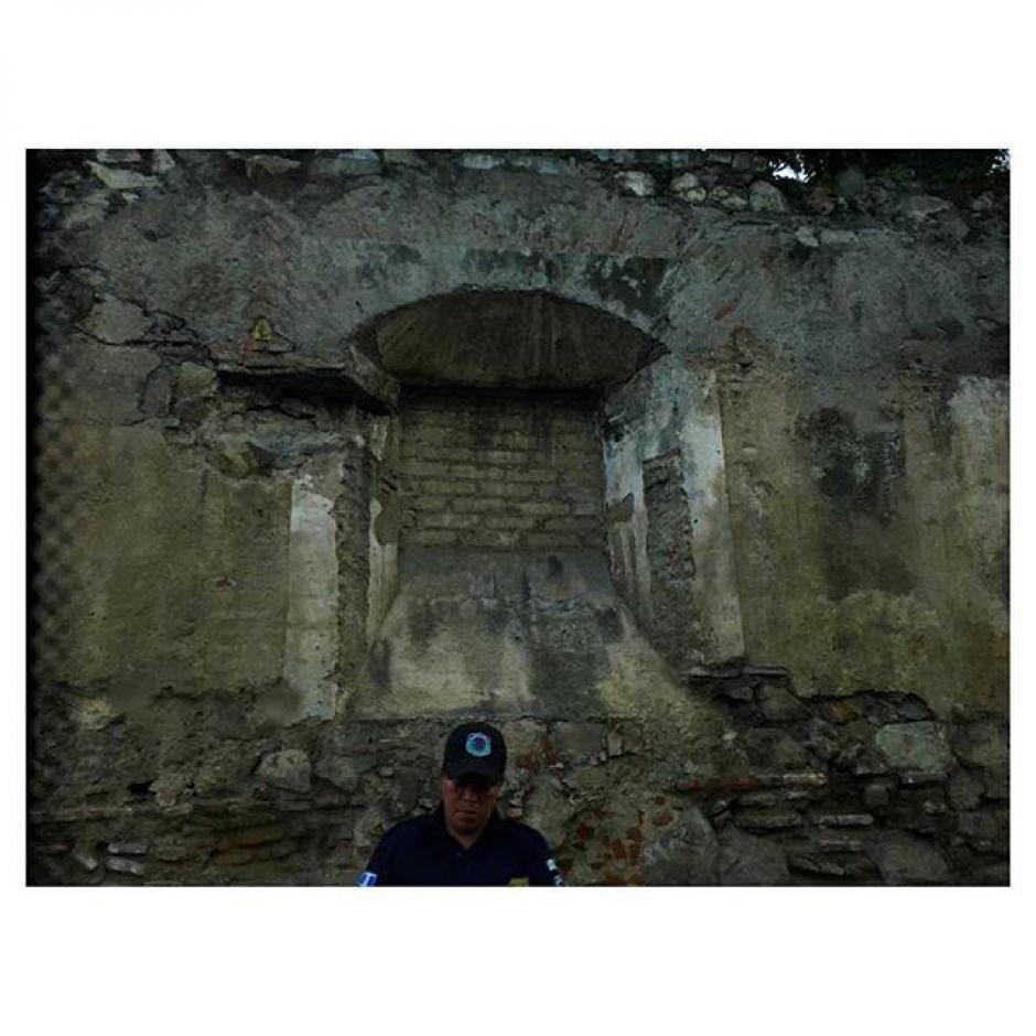 Esta fue una de las fotografías que compartió la DJ en su visita a Antigua Guatemala en Instagram. (Foto: Sasha Grey)