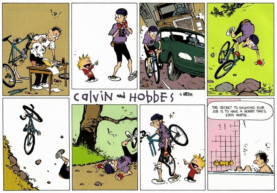 -El secreto para disfrutar tu trabajo es tener un hobby que es todavía peor. (Foto: magnet.xataka.com)