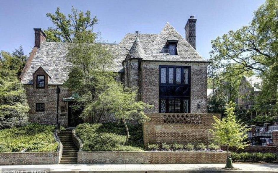 Esta es la fachada de la casa que ocuparan los Obama. (Foto: Twitter)