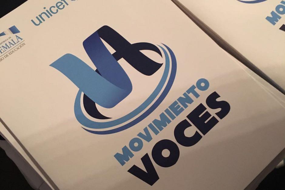 El Movimiento Voces es una iniciativa encabezada por Unicef y el Ministerio de Educación. (Foto: Unicef Guatemala)