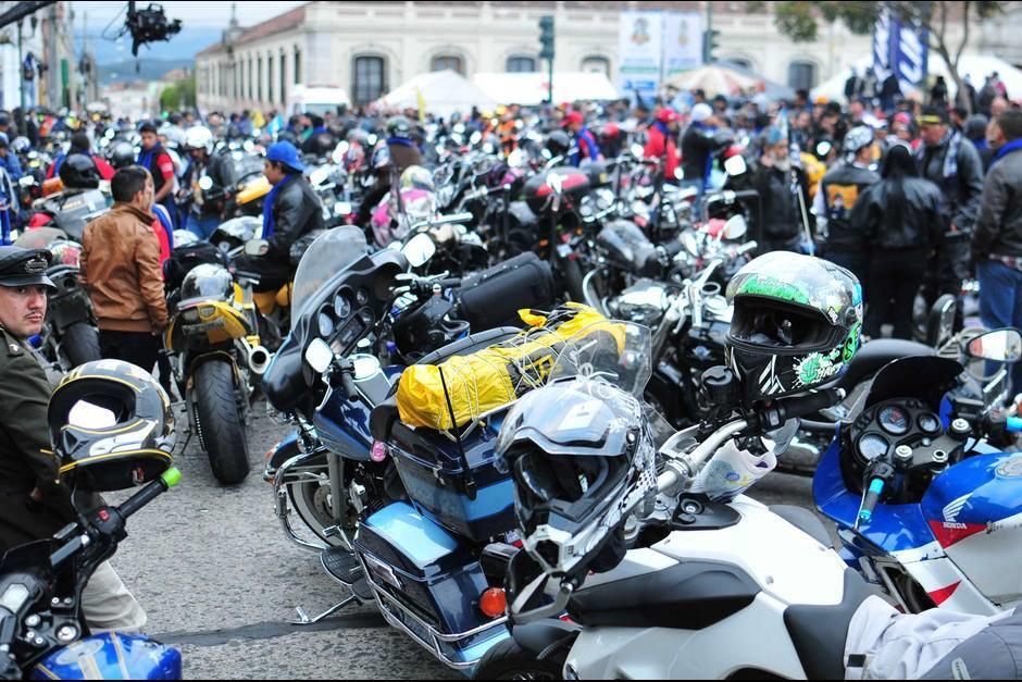 Cada mes se matricula un promedio de 12 mil motocicletas. (Foto: Archivo/Soy502)