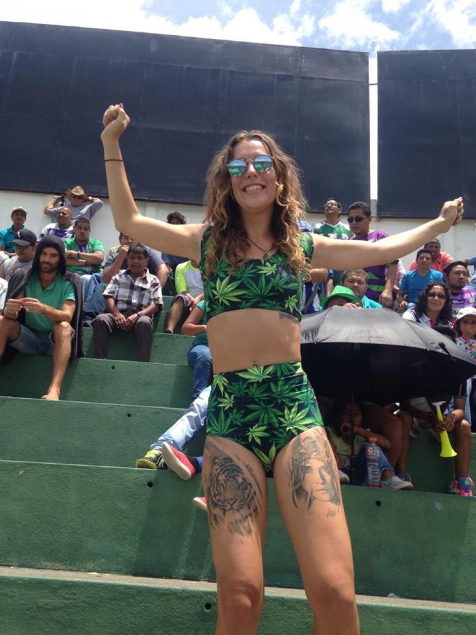 La joven australiana vino al país a aprender español. (Foto: Fredy Hernández/Soy502)