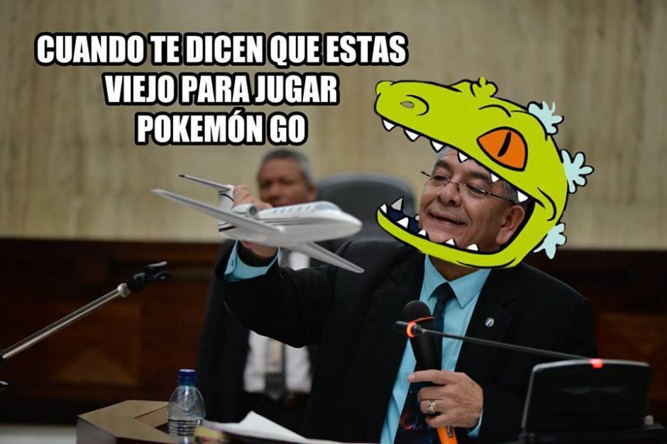 """A muchos usuarios en redes les causó gracia ver la forma en que el juez Gálvez presentó a la """"Balita"""". (Imagen: Facebook)"""
