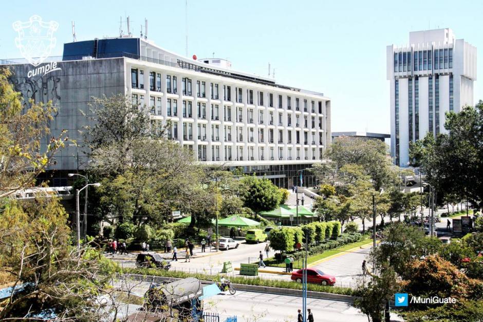 Las oficinas centrales y administrativas de la municipalidad no serán abiertas el lunes 25 de julio. (Foto: Municipalidad de Guatemala)