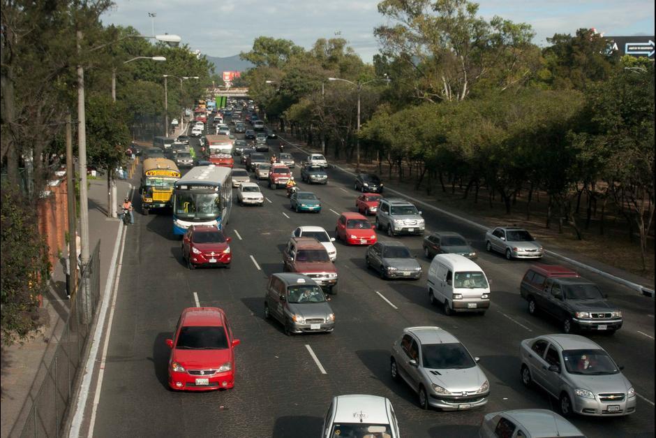 Con esta prueba se busca que sea más fluido el paso a Carretera al Salvador y la 20 calle. (Foto: Archivo/Soy502)
