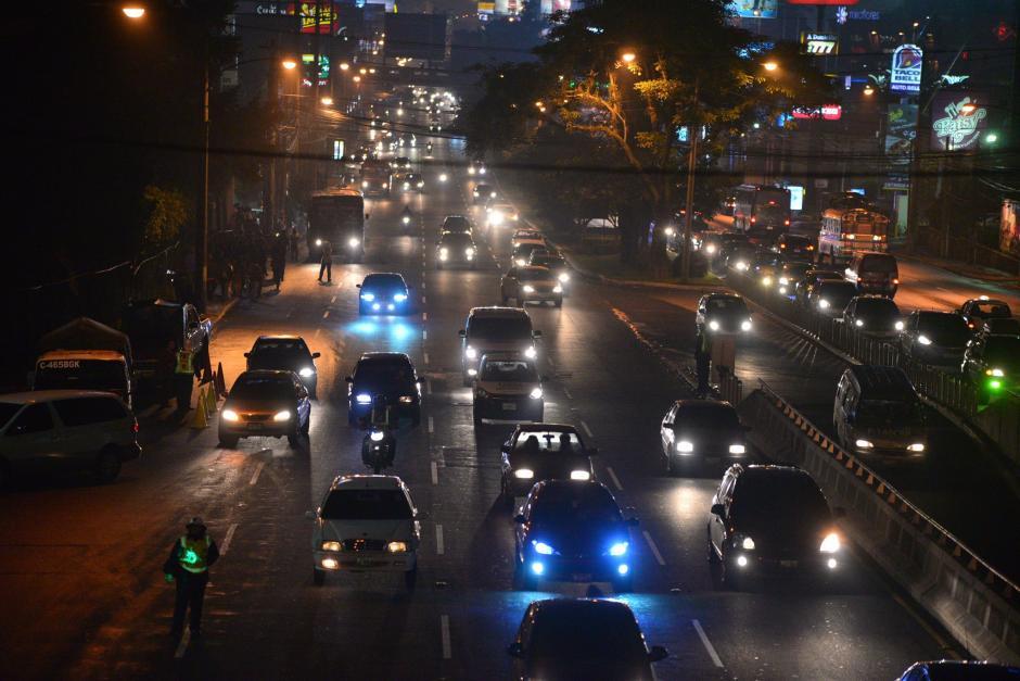 De acuerdo al estudio la felicidad de los conductores se refleja en la cantidad de tráfico en sus ciudades. (Foto: Archivo/Soy502)