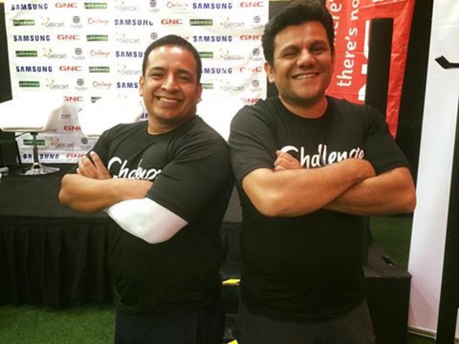 Amílcar Montejo y Ronald MacKay aceptaron el reto de bajar de peso en ocho semanas, ¿lo lograrán?. (Foto: Word Gym)