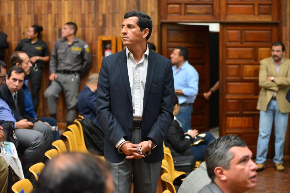 """El exministro de defensa, Manuel López Ambrocio, fue capturado por el caso de corrupción llamado """"La Cooperacha"""". (Foto: Archivo/Soy502)"""