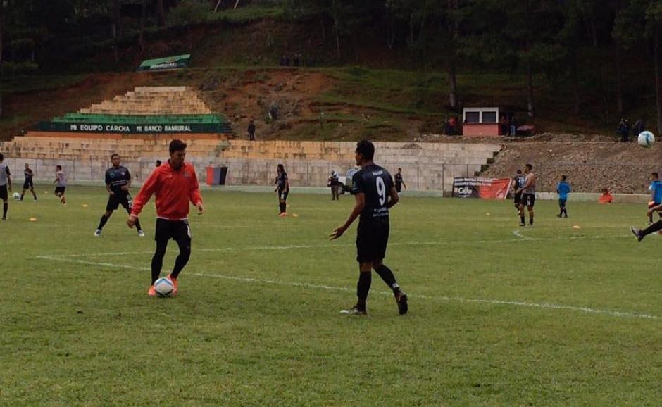 Este es el primer juego que Carchá disputa como local tras su ascenso a la Liga Mayor. (Foto: Deportivo Carchá)