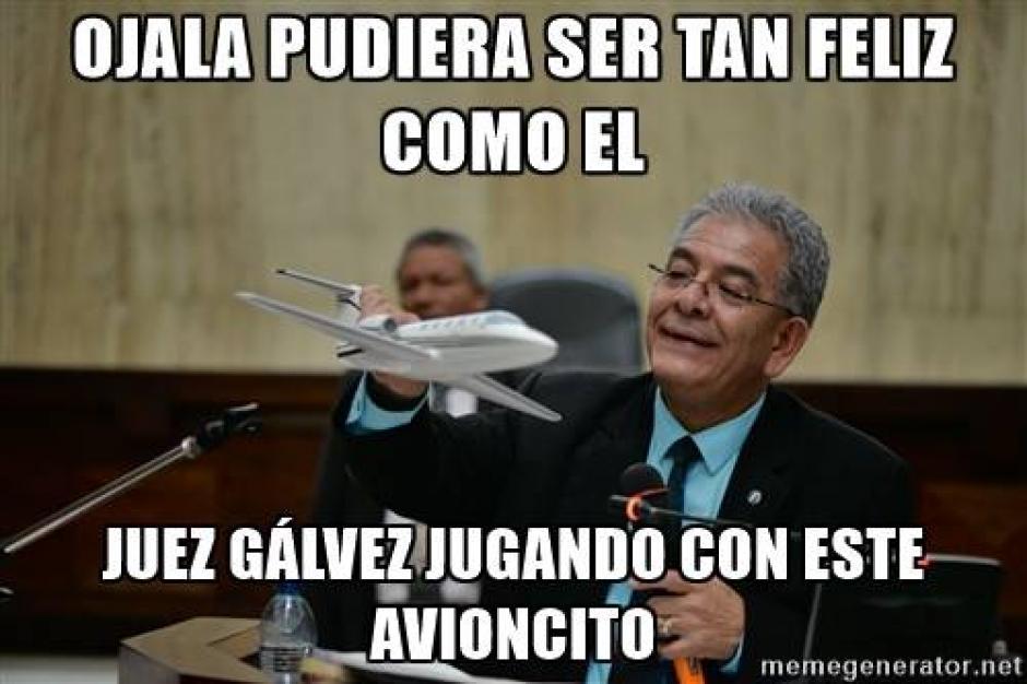 """Muchos hasta admiraron la forma tan genuina en que el juez Gálvez parecía disfrutar de la """"Balita"""". (Imagen: Facebook)"""