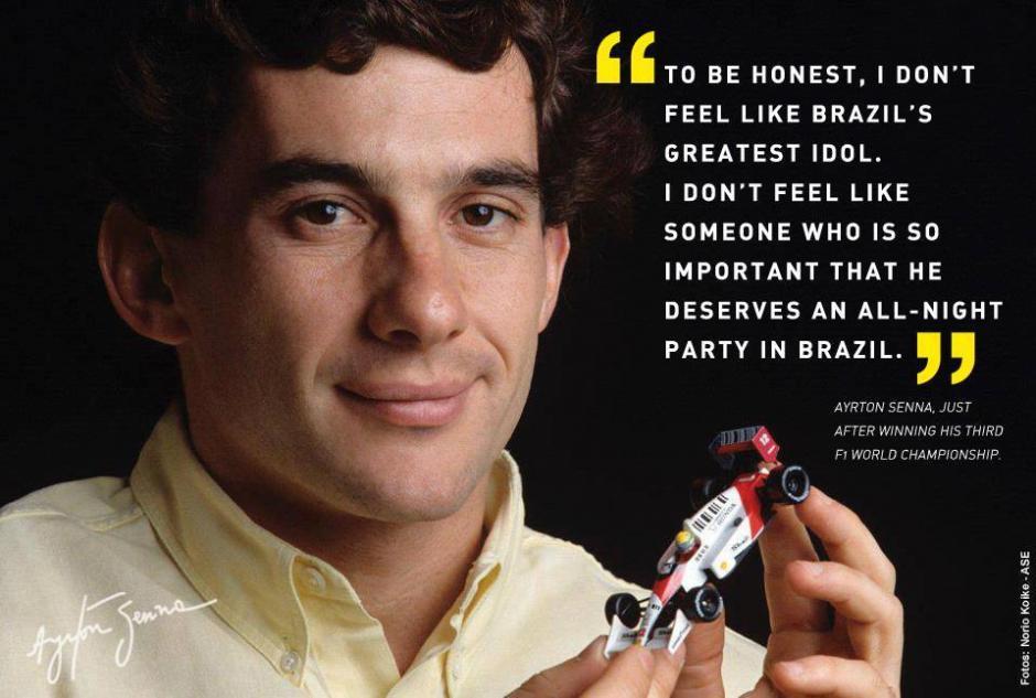 El vigésimo aniversario de la muerte de Ayrton Senna ha multiplicado los actos de recuerdo, tanto en su país como en Europa. (Foto Ayrton Senna/Facebook)